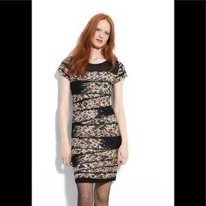 DIANE VON FURSTENBERG Noelle paneled silk dress